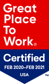 Great Place to Work 2020 Badge